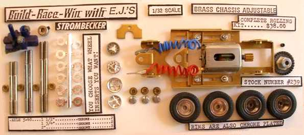 Strombecker 1/32 chassis kit