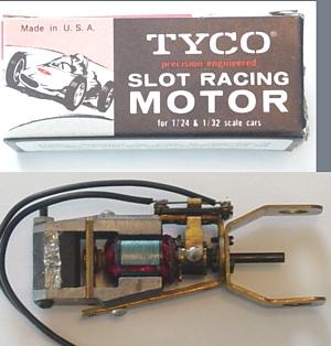 Slot Car Motors